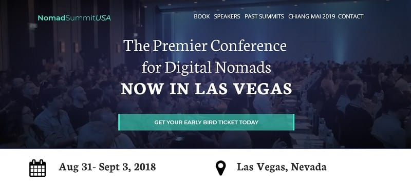 nomad summit usa - digital nomad conference