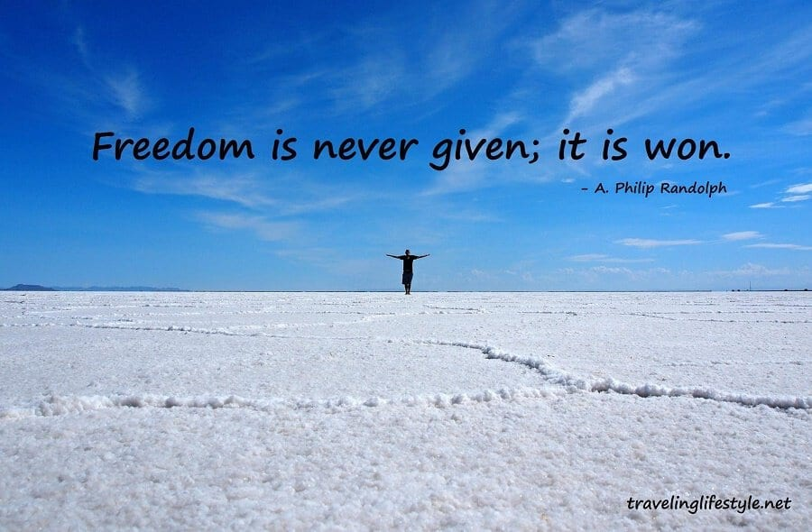 Freedom Quotes | Freedom Quote Traveling Lifestyle