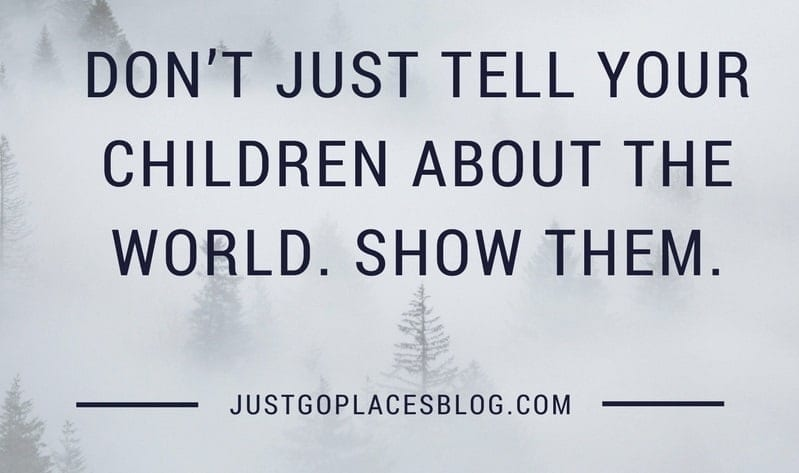 just go places blog - travel quote