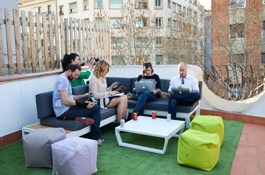 coliving space barcelona - landing pad