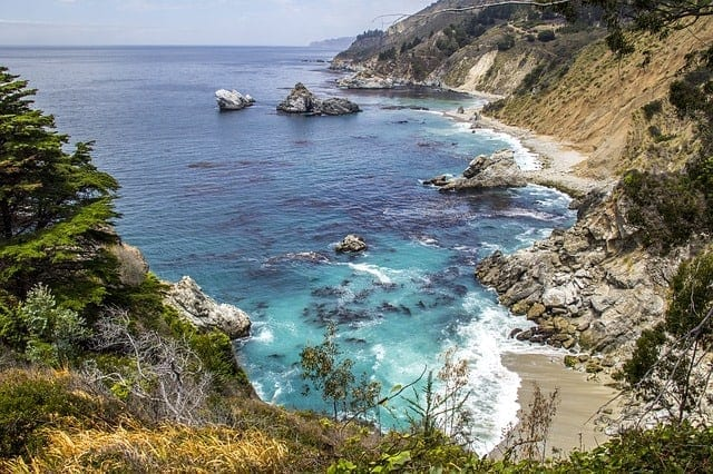 big sur - best camping in california