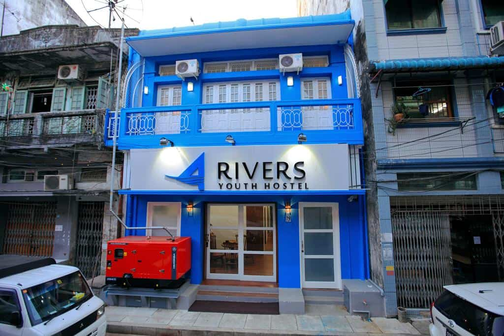 The Four Rivers Youth B&B Yangon Hostel