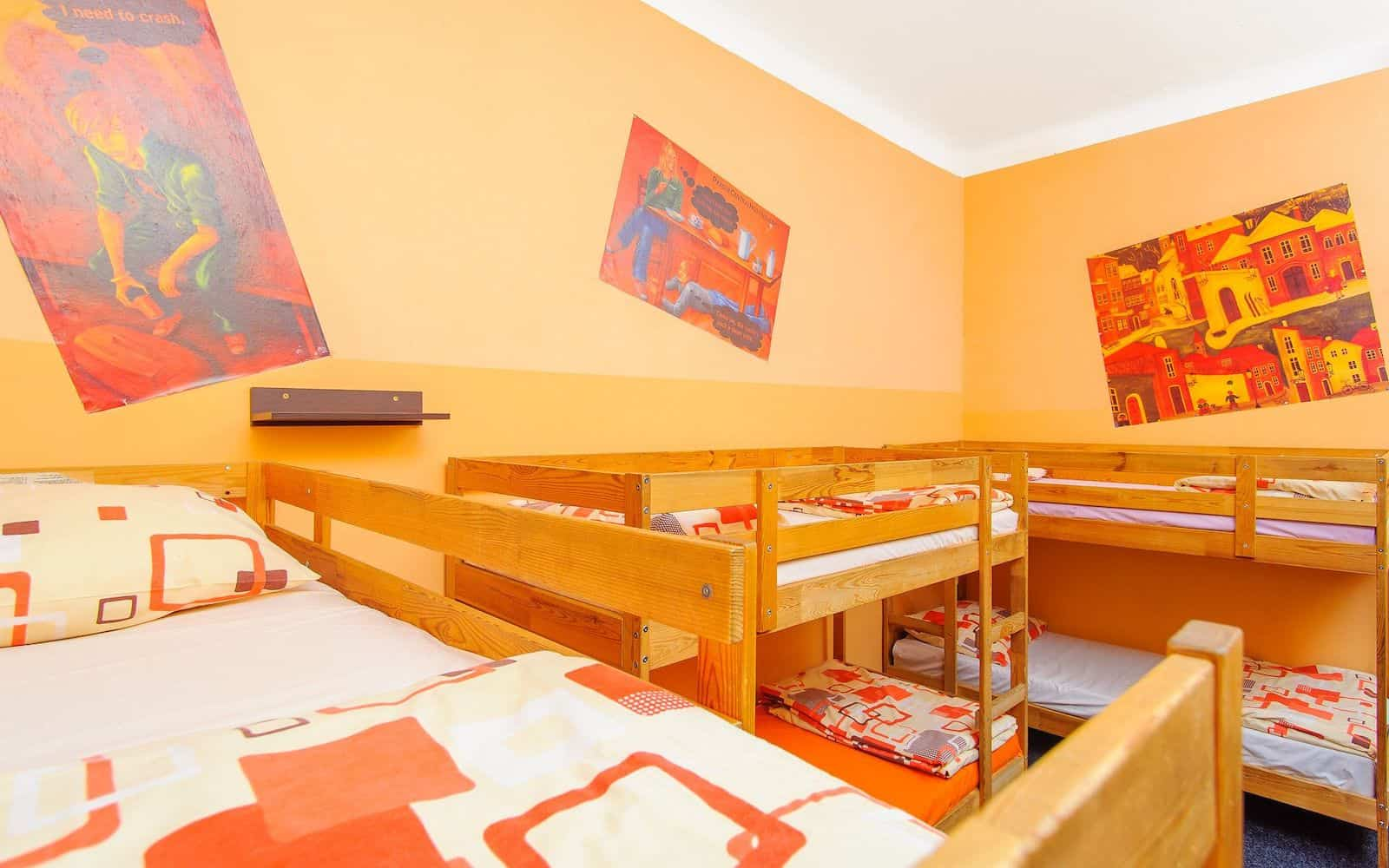 Prague Square Hostel Prague