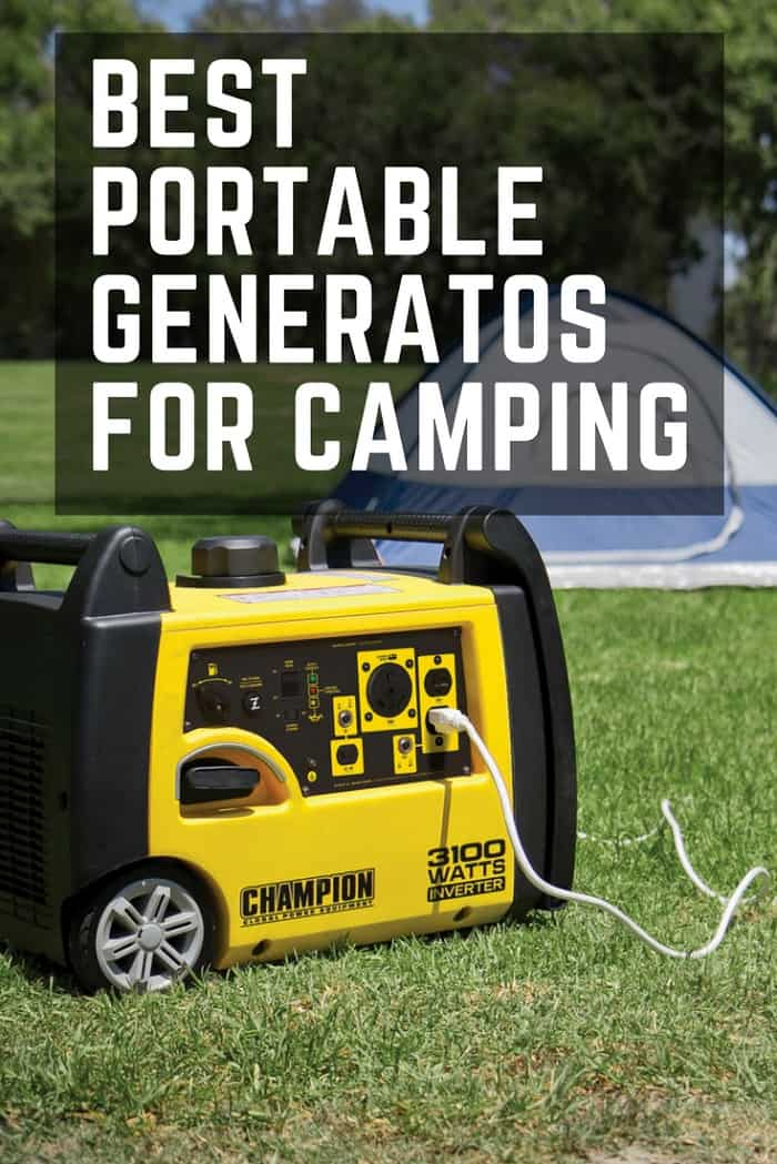 5 Best Portable Generators for RV or Camping Trip - (2019