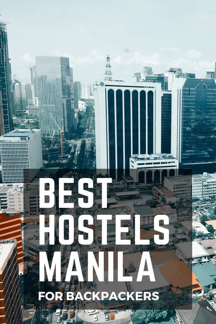 hostels in manila for backpackers