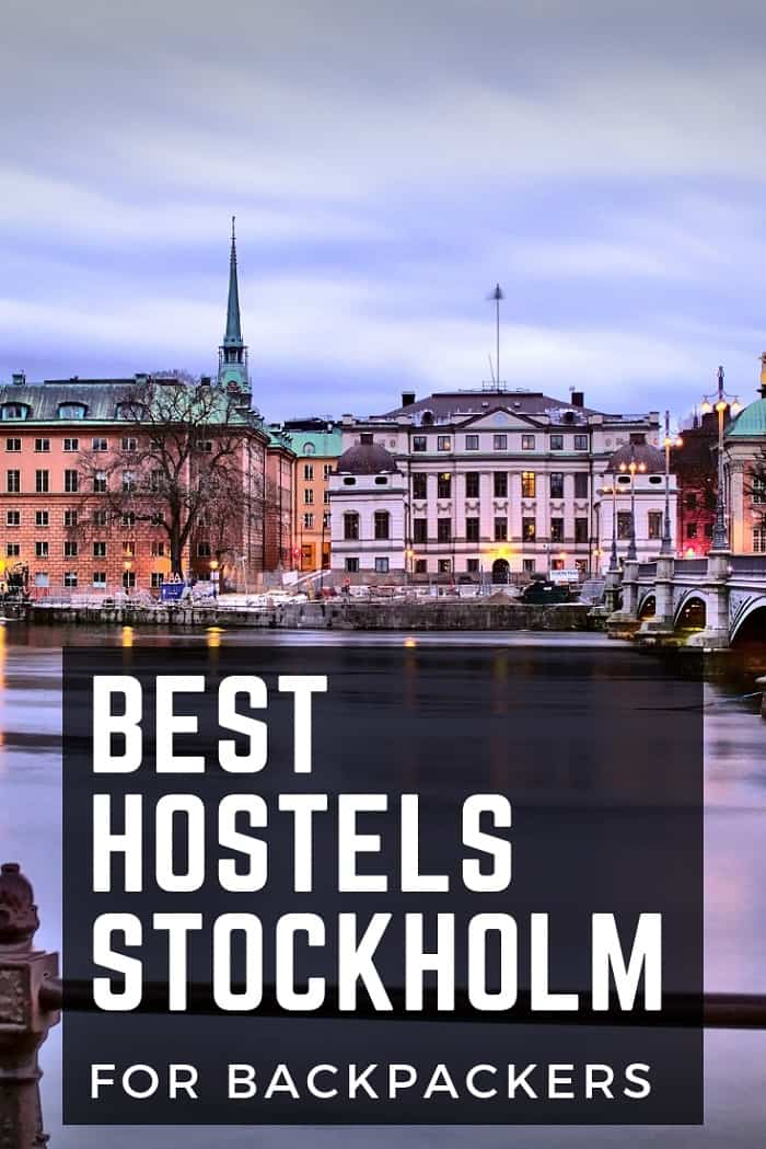 Hostels in Stockholm for Backpackers