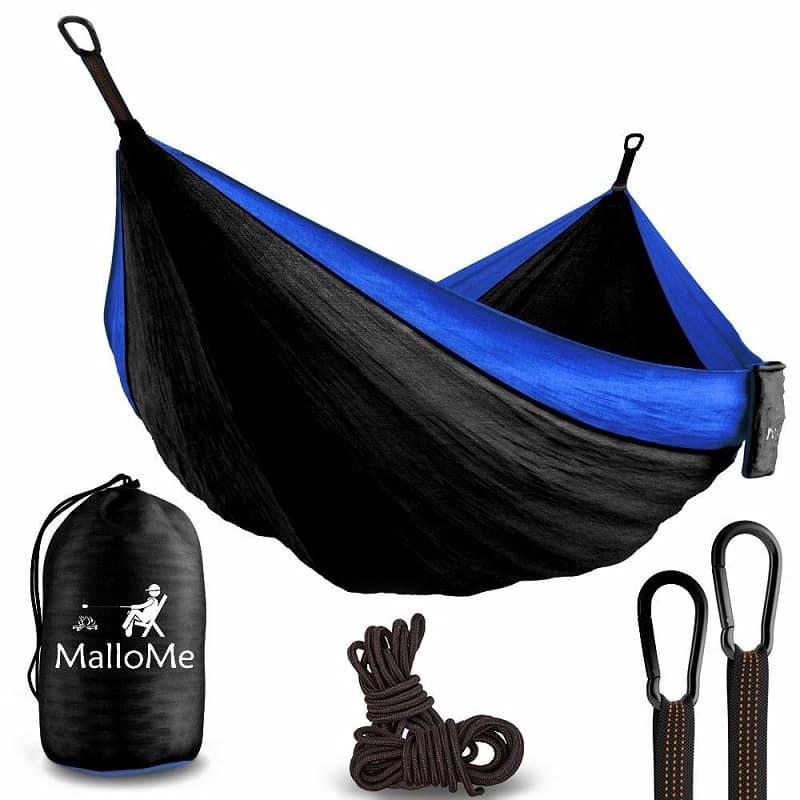 MalloMe XL Double Parachute Camping Hammock