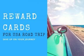 reward cards - usa road trip