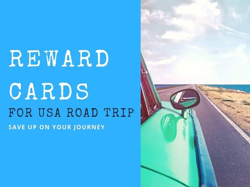 reward cards - usa road trip