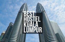 best hostels kuala lumpur