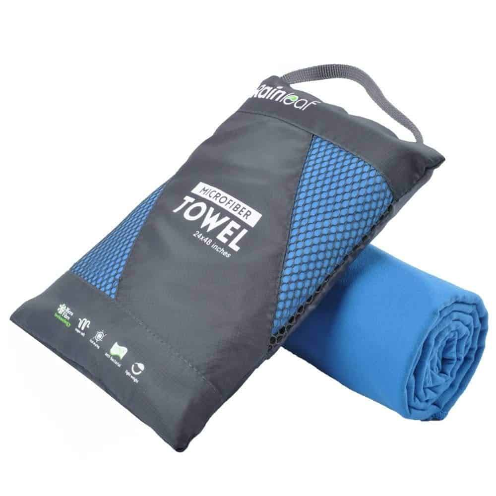 Super Absorbent Backpacking Gym Beach Eono by Ultra Compact Microfibre Towel Perfect Sports /& Travel /& Beach Towel Fast Drying Swimming Suitable for Camping