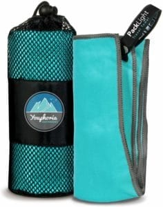 Youphoria Outdoors Microfiber Travel Towel
