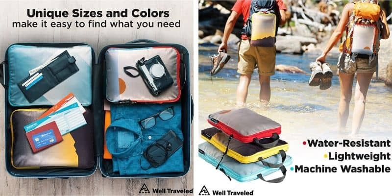 Best Compression Packing Cubes for Backpacking