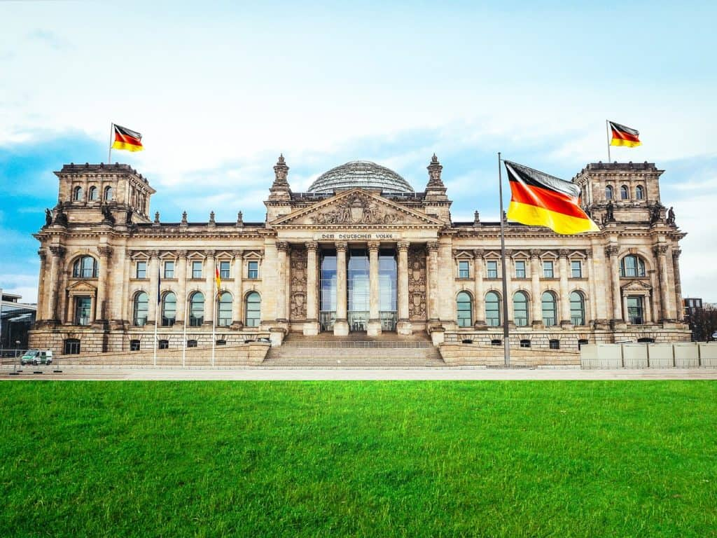 Reichstag - Gemany Landmark and Historical Site