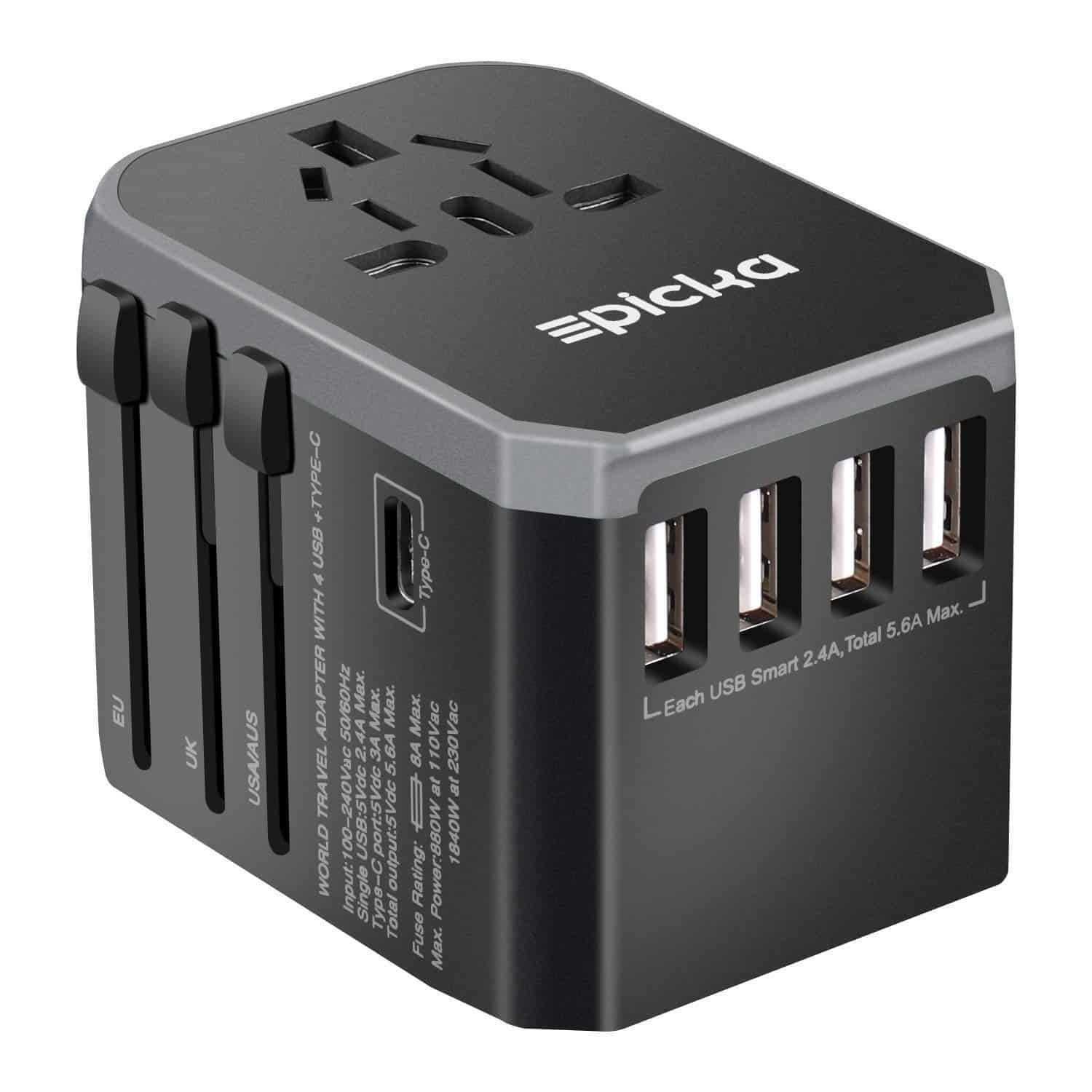 epicka - worldwide travel adapter
