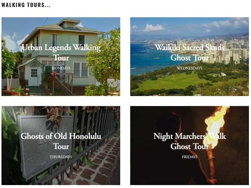 Ghost Tours - Honolulu Night Activities