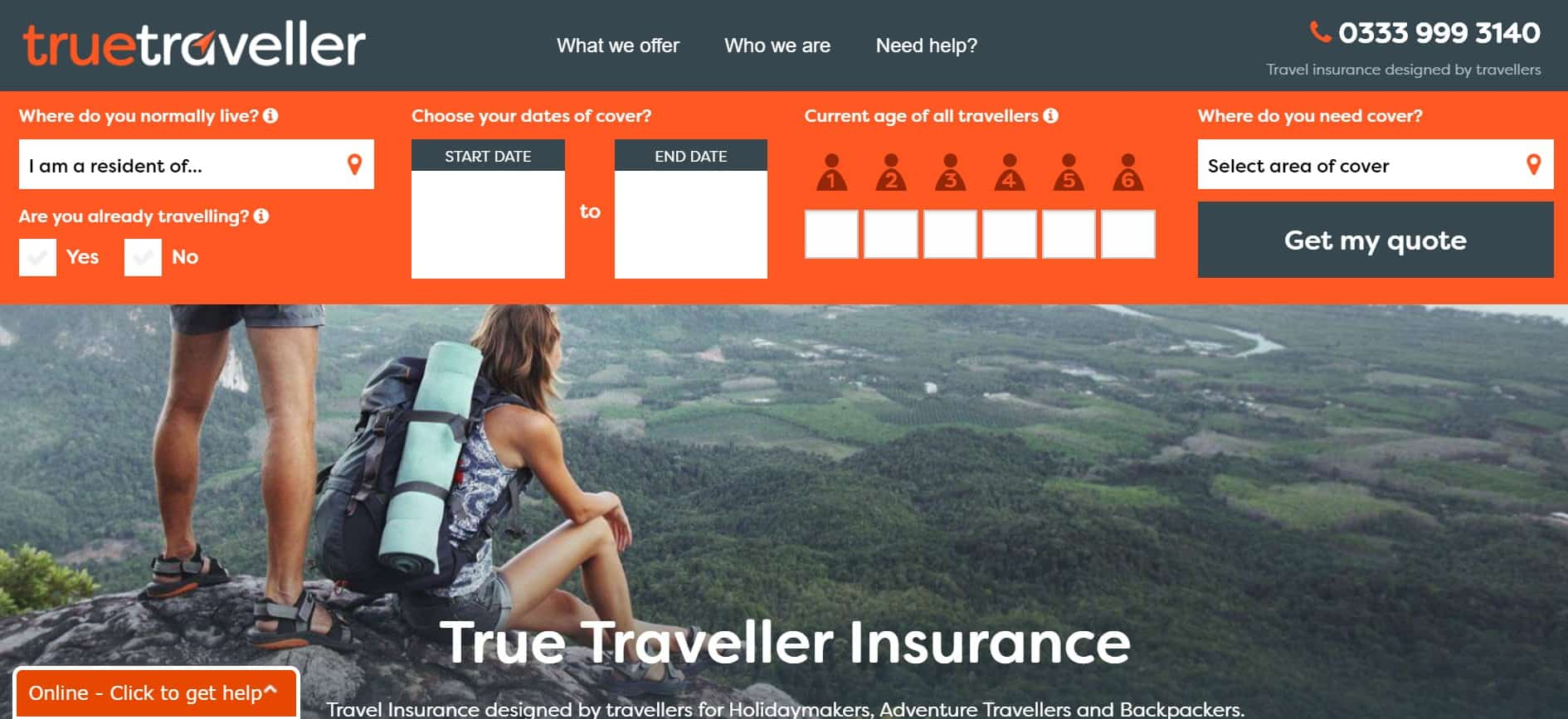 Insurance for Backpackers and Nomads