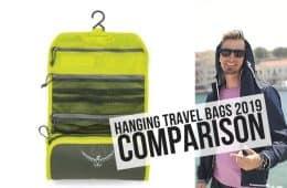 hanging travel bags