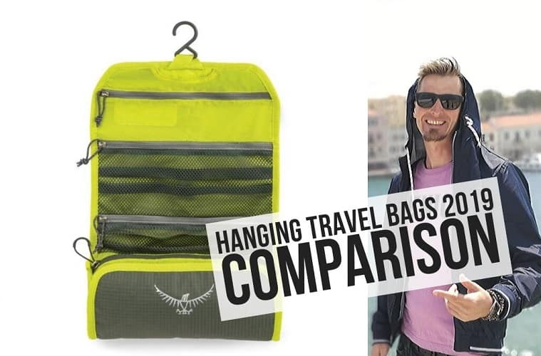 hanging travel bags