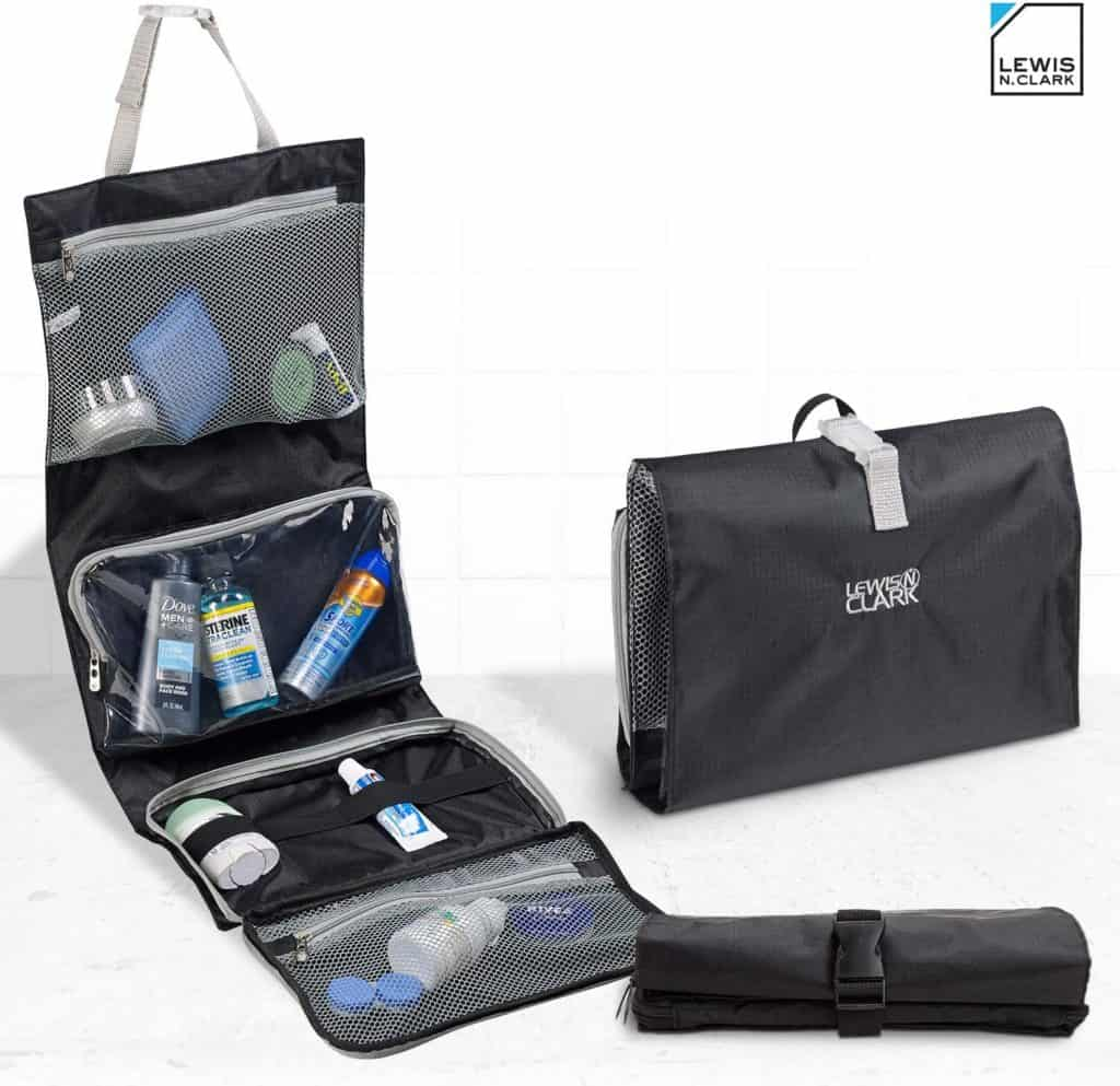 toiletry travel bags