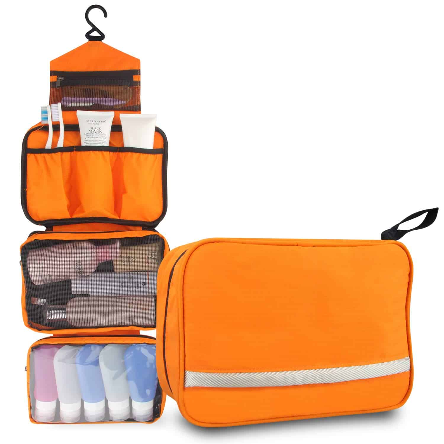 7 Hanging Toiletry Bags Organizers For Travelers 2020
