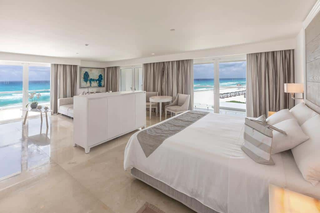 sea view room cancun - best luxury hotel
