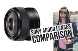 Travel Lenses for Sony A6000