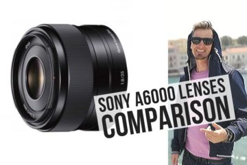 Travel Lenses for Sony A6000