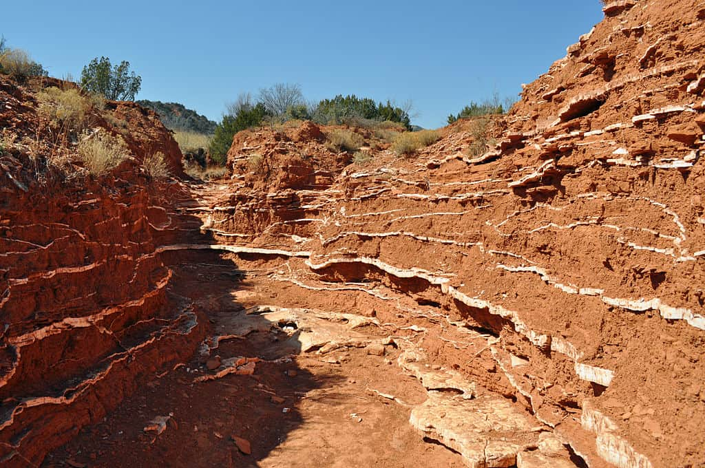 Caprock Canyons - best camping texas