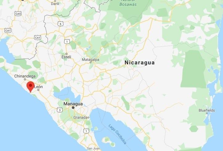 las penitas - beaches Nicaragua