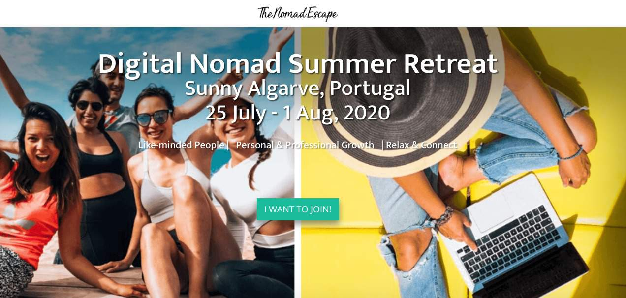 digital nomad event - summer retreat algarve