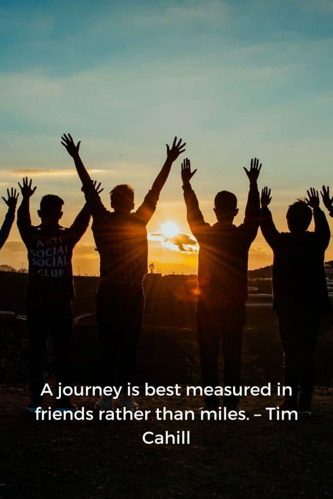 Wanderlust Quotes Pinterest - A journey is best measured in friends rather than miles