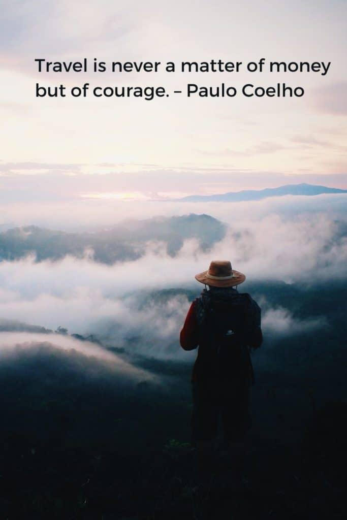 Wanderlust Quote Pinterest - Paulo Coelho