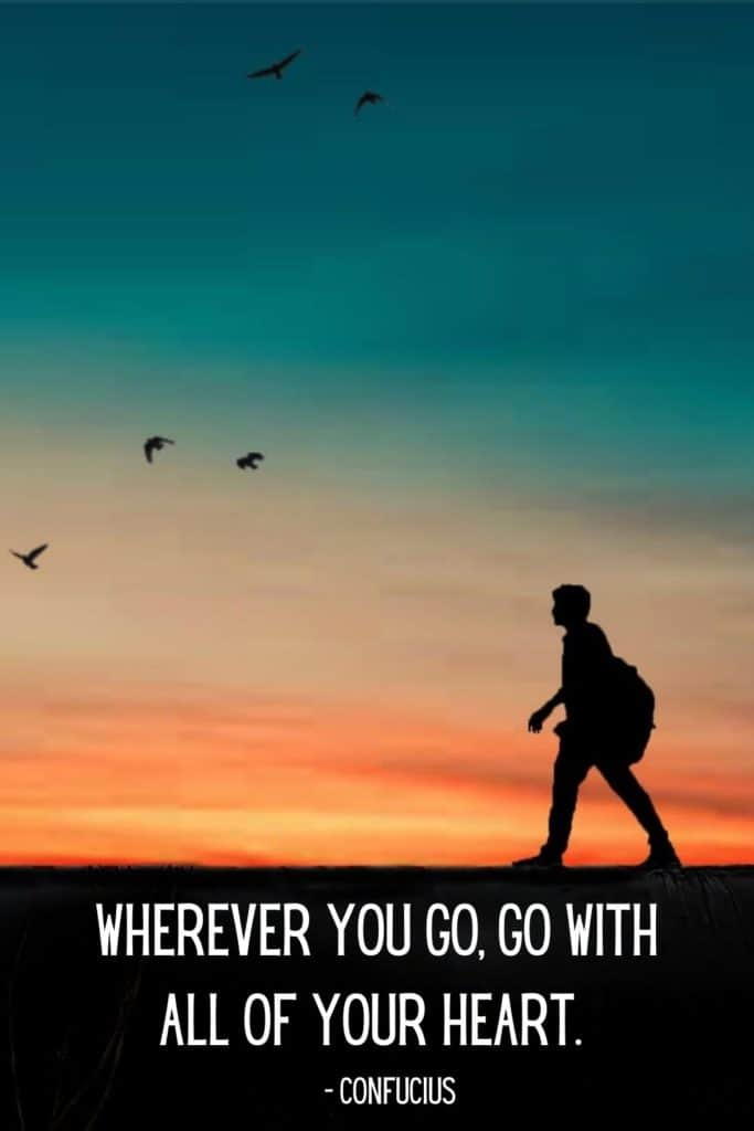 Wanderlust Quotes Pinterest - Confucius