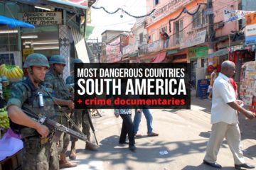most dangerous countries in south america