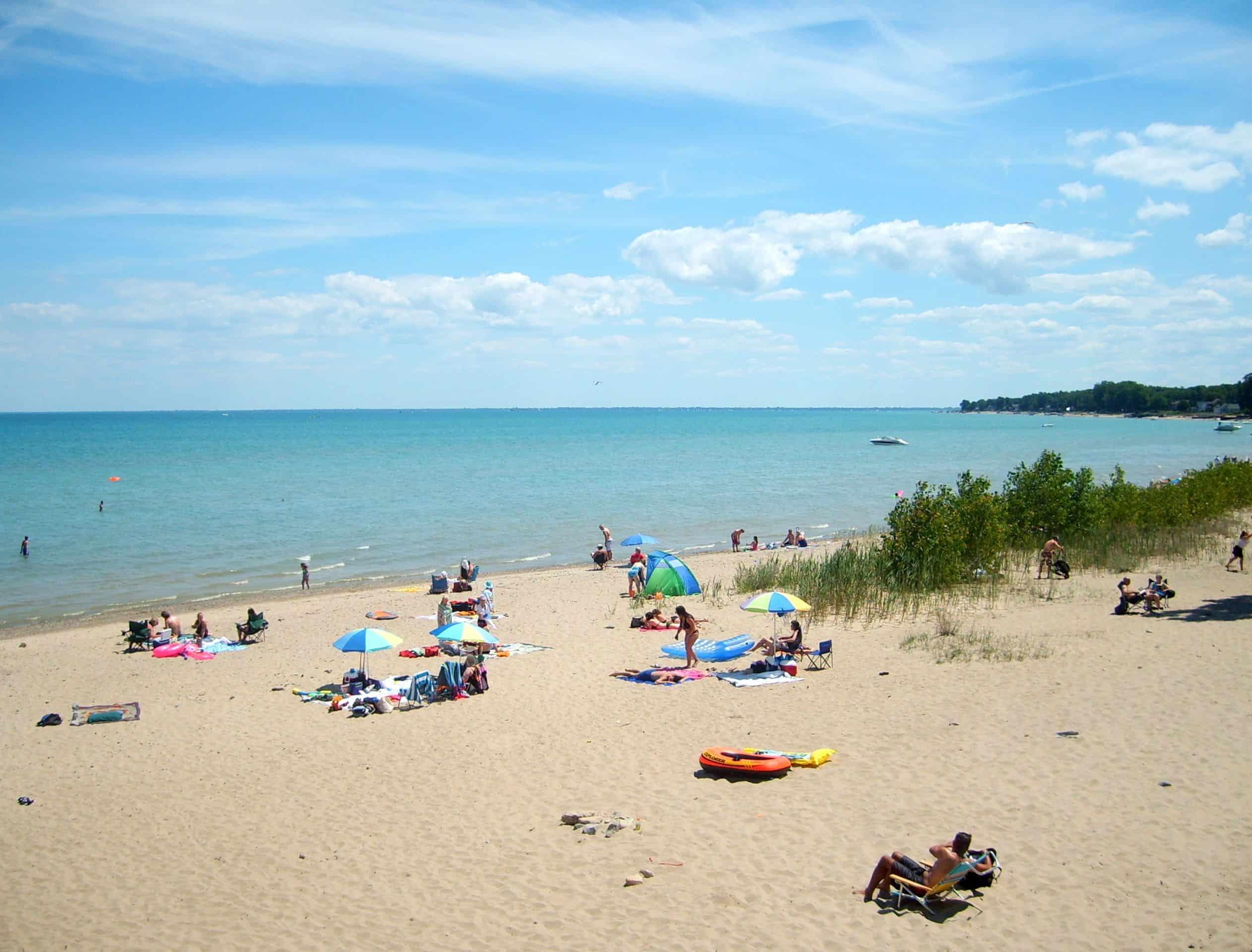 Lakeport State Park - Beach Camping Michigan