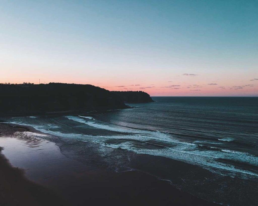 playa de rodiles - surf spot spain