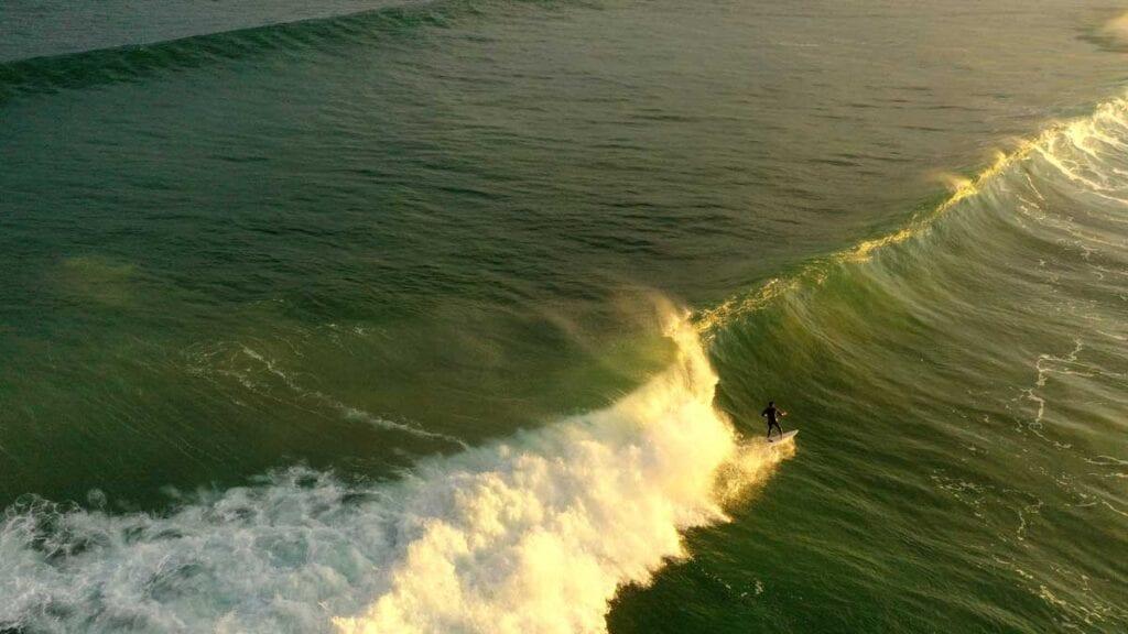 zarauz - surfing spot in Spain