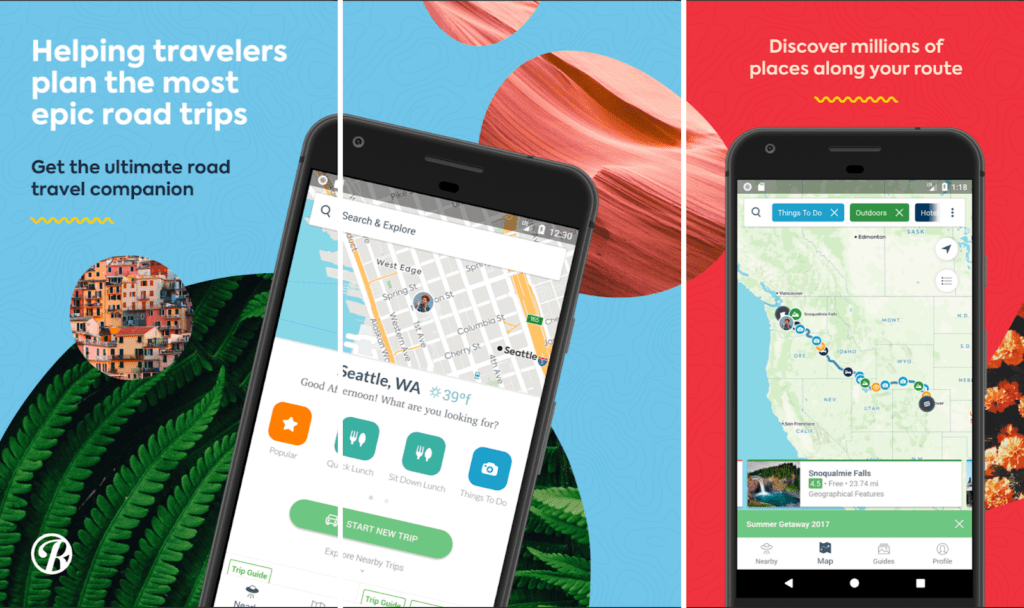 Roadtrippers - Travel Planning Mobile App
