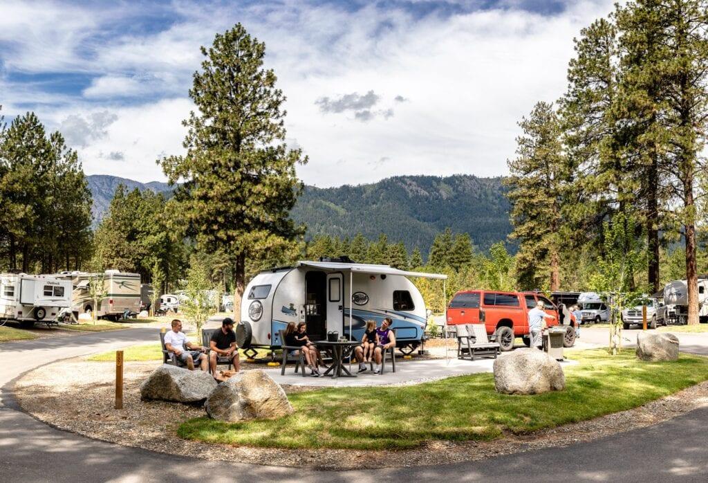 KOA Camping in Washington