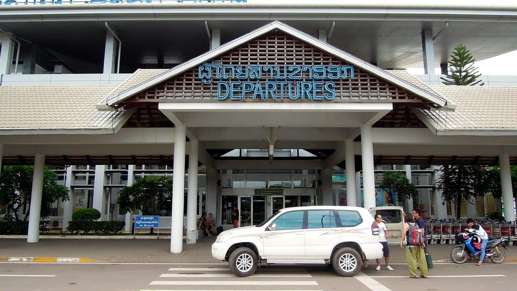 laos reopening borders - airport