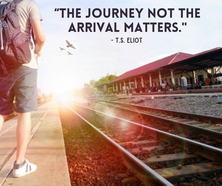 Wanderlust Quotes - The journey not the arrival matters.