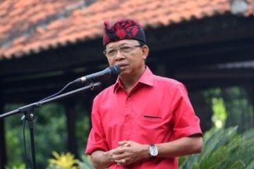 Wayan Koster Bali Governor - Reopening Tourism