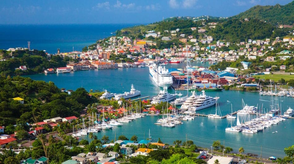Grenada - best places to travel during covid for US citizens
