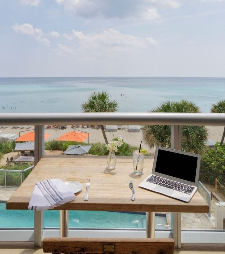 """Miami trying to become US remote workers """"workcation"""" hotspot"""