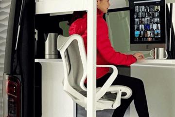 Nissan's concept of digital nomad car