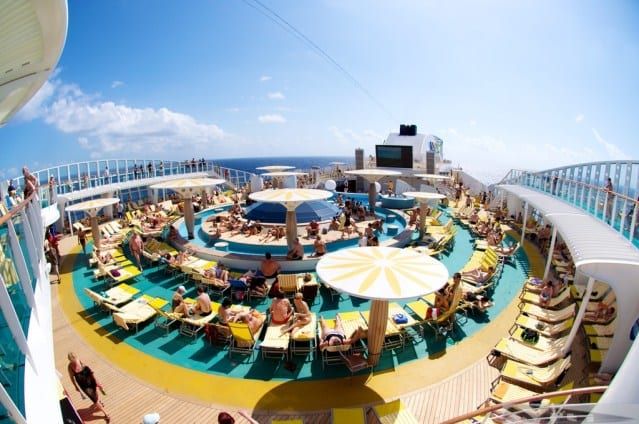 AIDA Cruise Ships pool deck