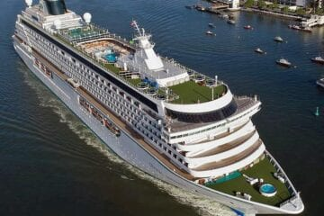 Crystal, Another Cruise Line to Require COVID-19 Vaccination