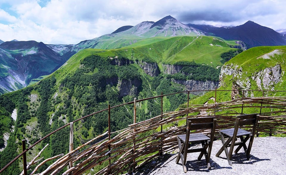 Mountains in Northern Georgia