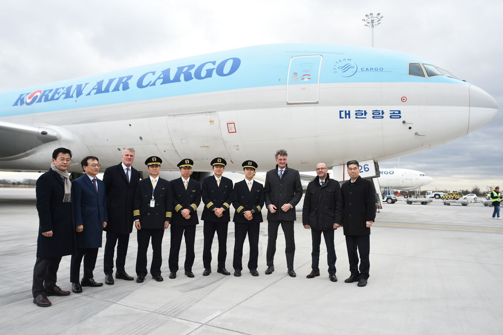 One of the Korean Cargo Teams